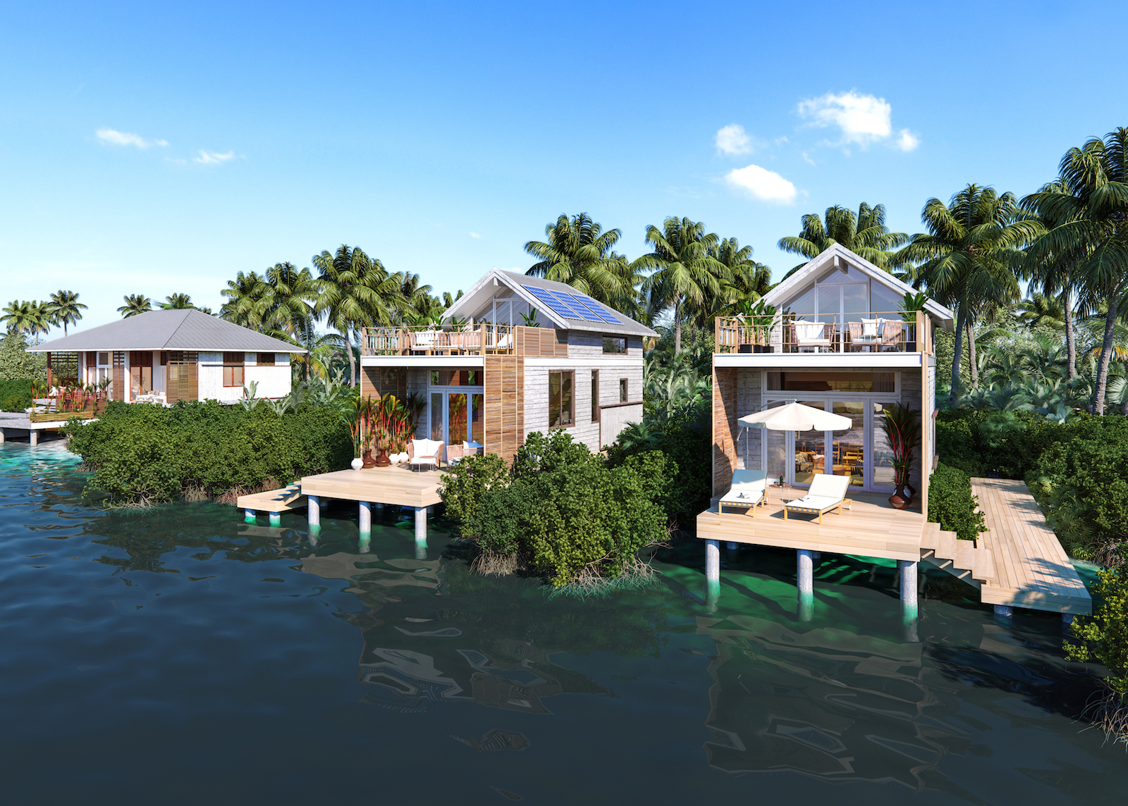Give back in luxury Belize